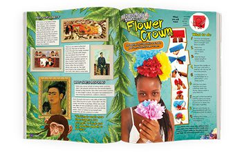 Supernova, the mag for curious kids. Culture Spread
