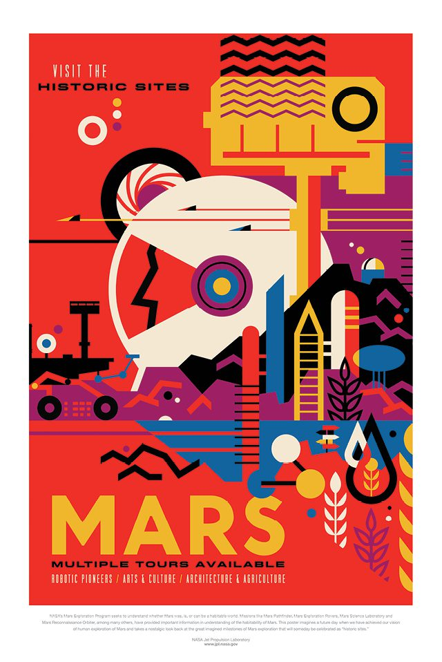 Mars! Multiple Tours Available