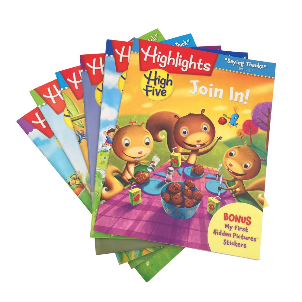 Highlights High Five magazines