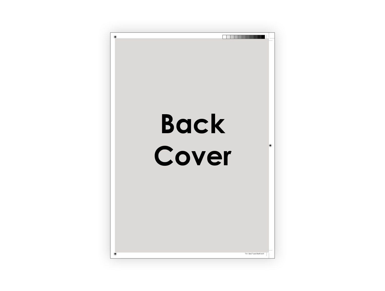 Supernova magazine Advertising Back Page