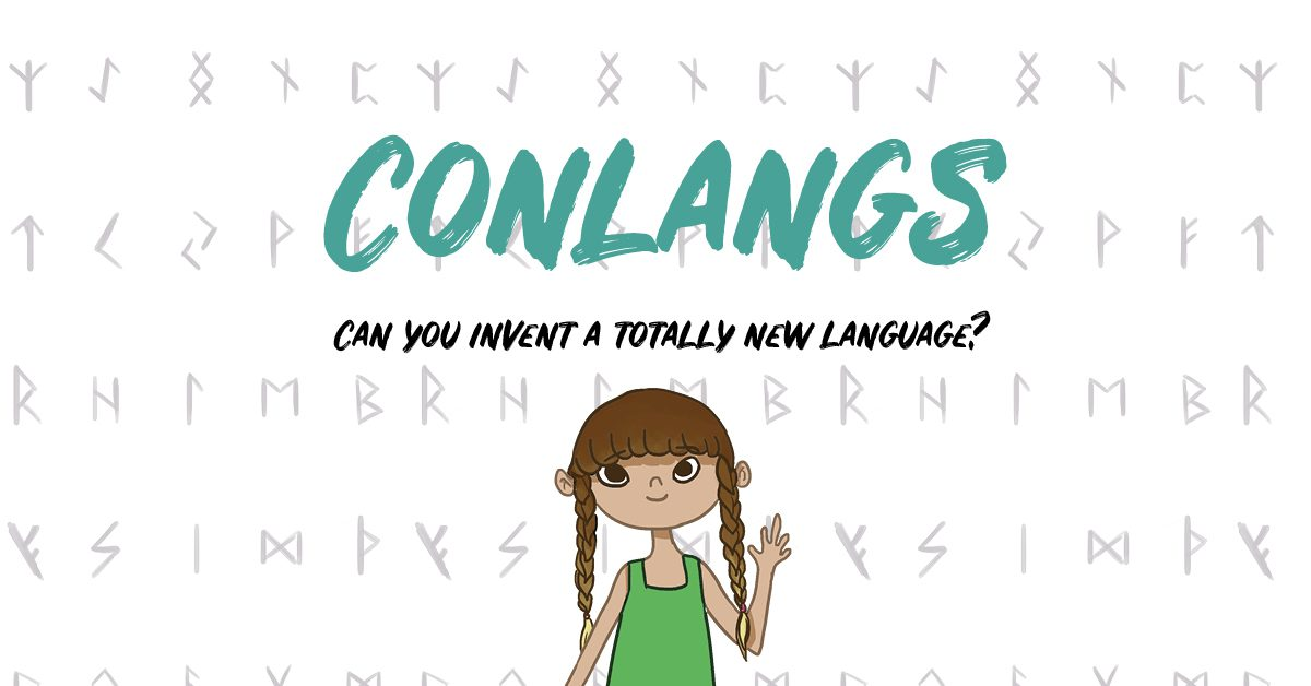 Conlangs Feature Image - Can you invent a totally new language?