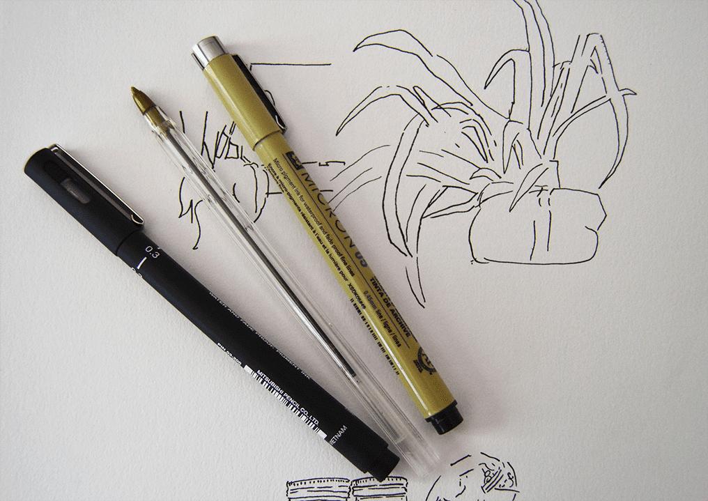 Ink pens