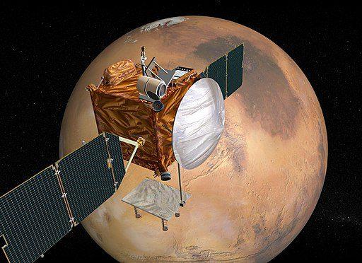 A Martian orbiter